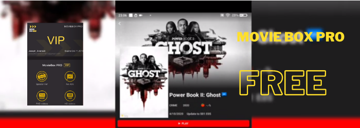 MovieBox Pro App