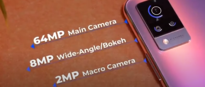 Vivo v21 smartphone